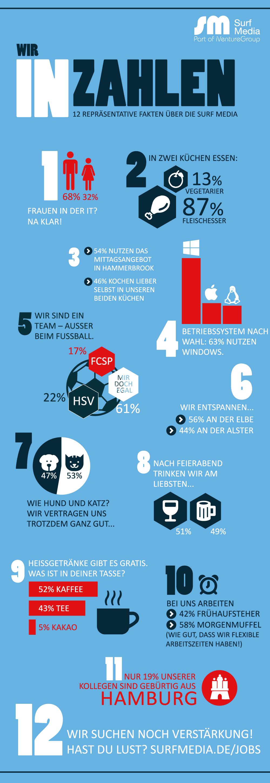 surf media in zahlen | infografik